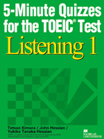 5-Minute Quizzes for the TOEIC Test Listening 1     Student Book