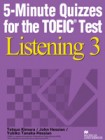 5-Minute Quizzes for the TOEIC Test Listening 3  | Student Book