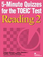 5-Minute Quizzes for the TOEIC Test Reading 2  | Student Book