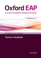 Oxford EAP: Intermediate / B1+ | Teacher's Book & DVD Pack