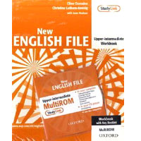 New English File Upper Intermediate 2nd Edition | Workbook w/ROM