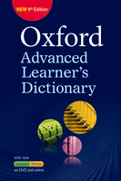 Oxford Advanced Learner's Dictionary: 9th Edition | Paperback with DVD-ROM and Online Access Code