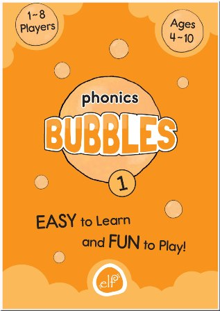 Phonics BUBBLES - Level 1