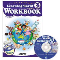 Learning World Book 3 | Workbook with CD