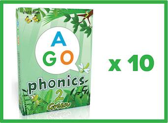 AGO-phonics-green-10-pack