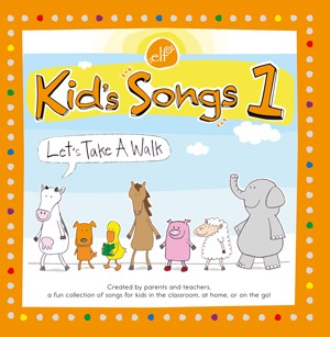 Kids Songs 1 Lets Take  a Walk | CD