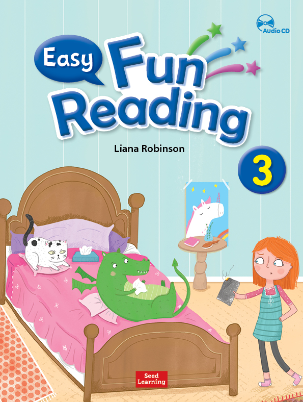 easy fun reading 3 student book with workbook amp audio cd