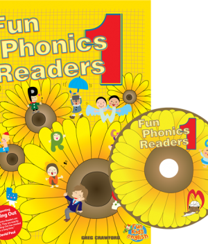 Fun Phonics Readers Book 1 | Reader + CD