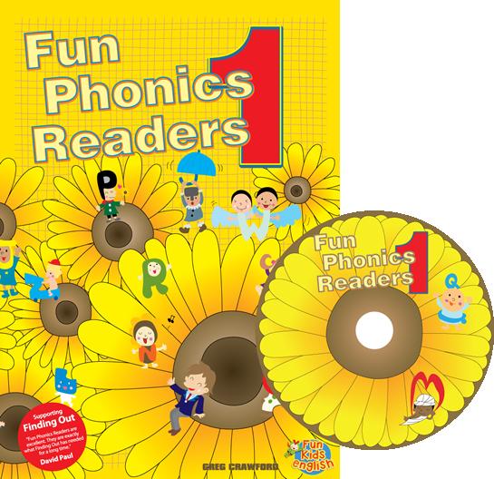 Fun Phonics Readers Book 1 | Reader + CD
