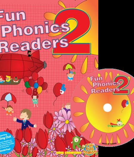 Fun Phonics Readers Book 2   Reader + CD