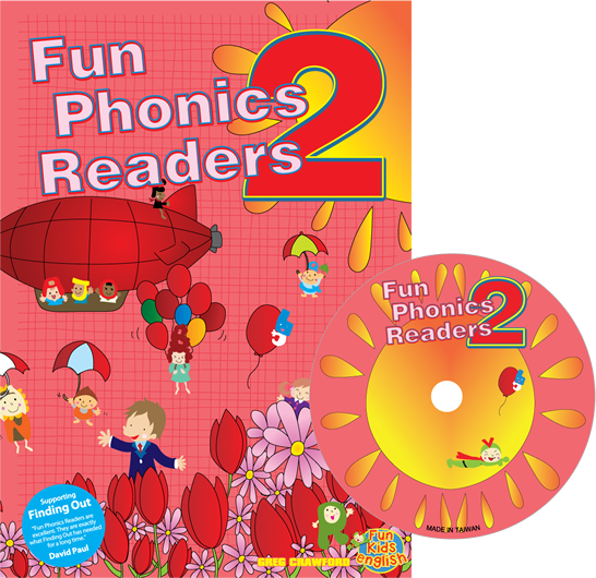 Fun Phonics Readers Book 2 | Reader + CD