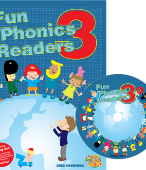 Fun Phonics Readers Book 3 | Reader + CD
