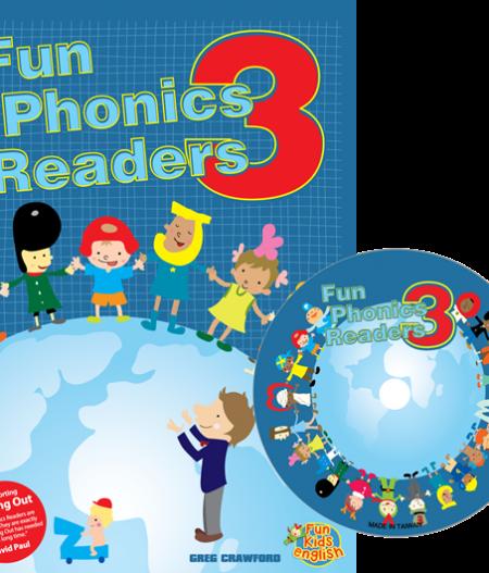 Fun Phonics Readers Book 3   Reader + CD