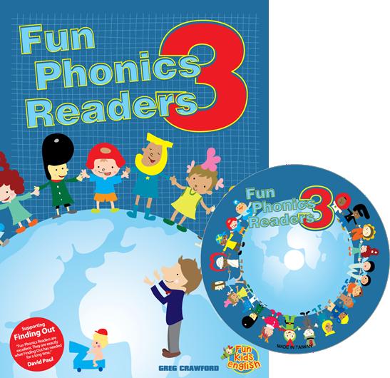 Fun Phonics Readers Book 3 | Reader + CD