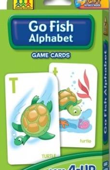 Go Fish Alphabet | Flash Cards