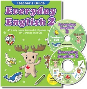 Everyday English 2 | Teacher's Guide with CD-ROM and DVD (Japanese)