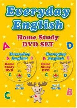 Everyday English 1 | Home Study DVD Set (2 DVDs)