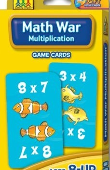 Math War: Multiplication | Flash Cards