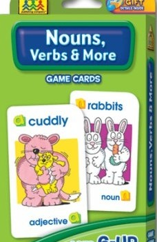 Nouns Verbs and More | Flash Cards