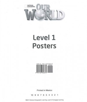 Our World 1 | Poster Set
