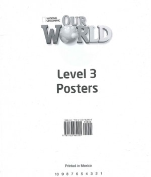Our World 3 | Poster Set