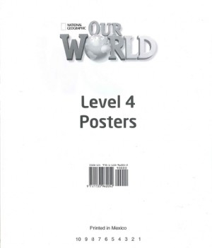 Our World 4 | Poster Set
