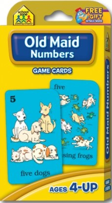 Old Maid Numbers | Flash Cards