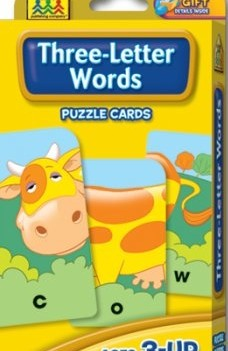 Three-Letter Words | Flash Cards
