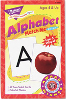 Alphabet Match Me Cards | Card Game