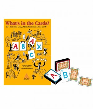What's in the Cards? set (Text + 2 packs of Letter Cards) | Teacher's Resource