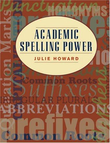 Academic Spelling Power | Text (160 pp)
