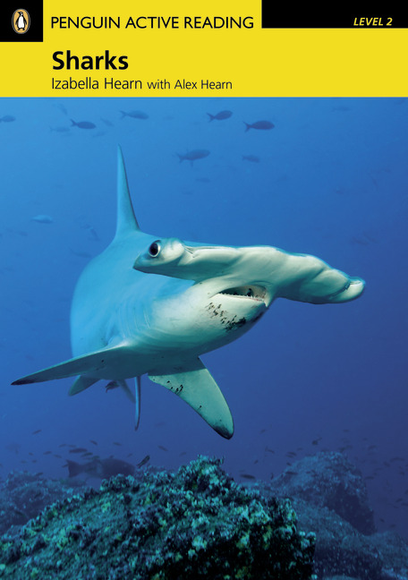 Sharks   Book with CD-ROM and MP3 Audio Disc