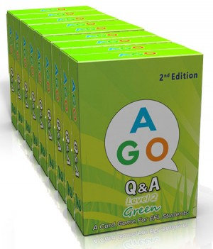 AGO Green (Level 2) 2nd Edition- Set of 10 Packs | Card Game