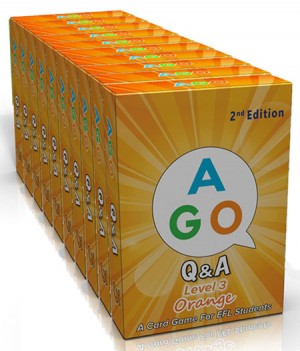 AGO Orange (Level 3) - Set of 10 Packs | Card Game | Card Game