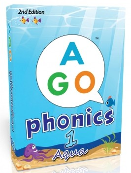 AGO Phonics Aqua(Level 1)  | Card Game