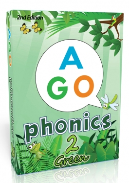 AGO Phonics Green (Level 2)  | Card Game