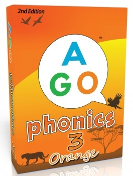AGO Phonics Orange (Level 3)  | Card Game