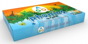 AGO Phonics Set (Aqua + Green + Orange)  | Card Game | Card Game