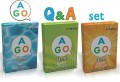 AGO Q&A (2nd Edition) Set (Aqua + Green + Orange)  | Card Game