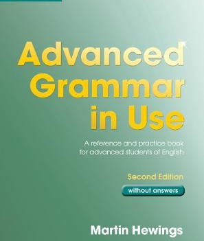 Advanced Grammar in Use  | Book without answers