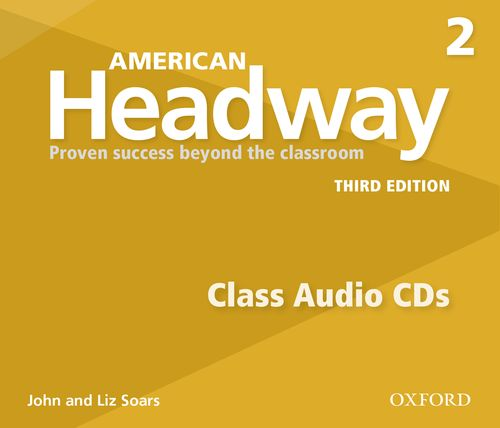 American Headway: Third Edition 2 | Class Audio CDs (3)