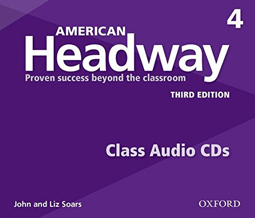 American Headway: Third Edition 4 | Class Audio CDs (3)