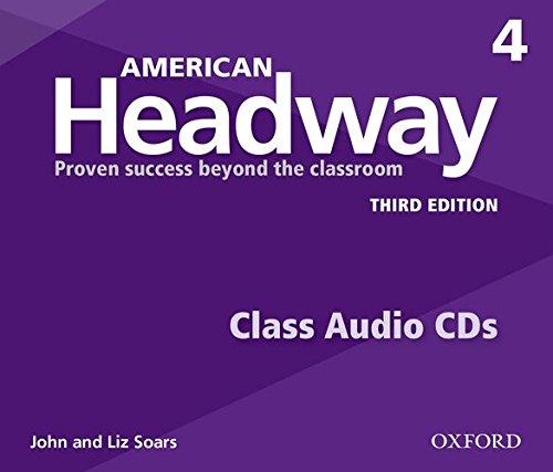 American Headway: Third Edition 4 | Class Audio CDs (3)