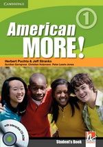 American More! 1 | Combo B with Audio CD/CD-ROM