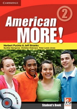 American More! 2 | Combo A with Audio CD/CD-ROM