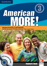 American More! 3 | Combo A with Audio CD/CD-ROM