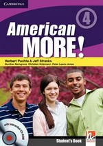 American More! 4 | Combo A with Audio CD/CD-ROM
