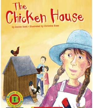 The Chicken House | Book with CD