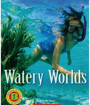 Watery Worlds | Book with CD