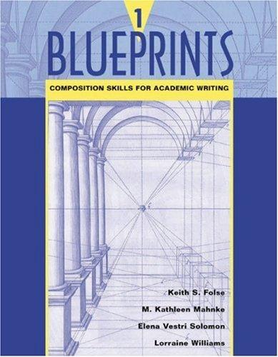 Blueprints 1 | Book